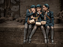 KT Allen - Evacuee Triplets